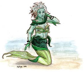 Caithe Mermaid by Kailyce