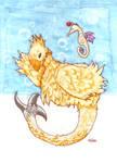 Chocobo Mermaid