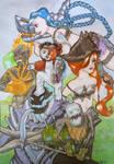 Fanart League of Legends X Gremlins