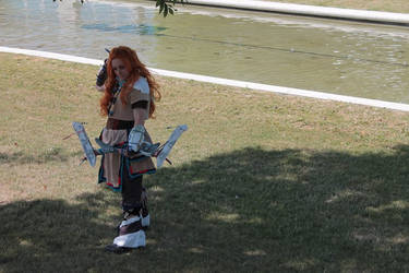 Cosplay Aloy Horizon Zero Dawn - Japan Expo 2017