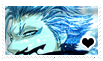 stamp: grimmjow by DeathByChopsticks