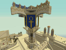 Al'darauby - Zeppelin Tower by Epic-nesFactor