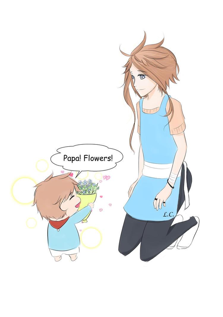 Papa Flowers by LucianCaelum