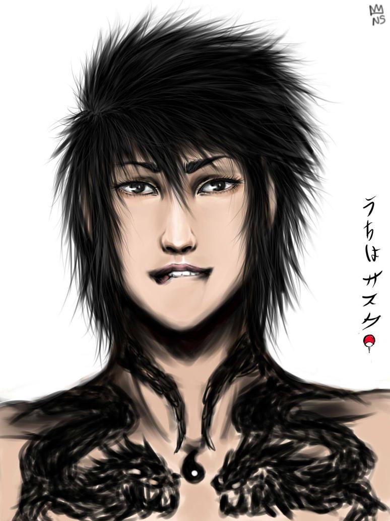Sasuke Uchiha - tatoos by BrisaDescarada