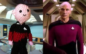 Li'l Trekkies - Captain Picard by smapte