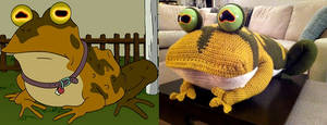 Hypnotoad Side by Side