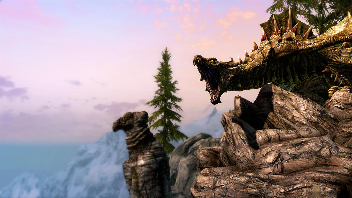 Spirit of Skyrim by Axeface
