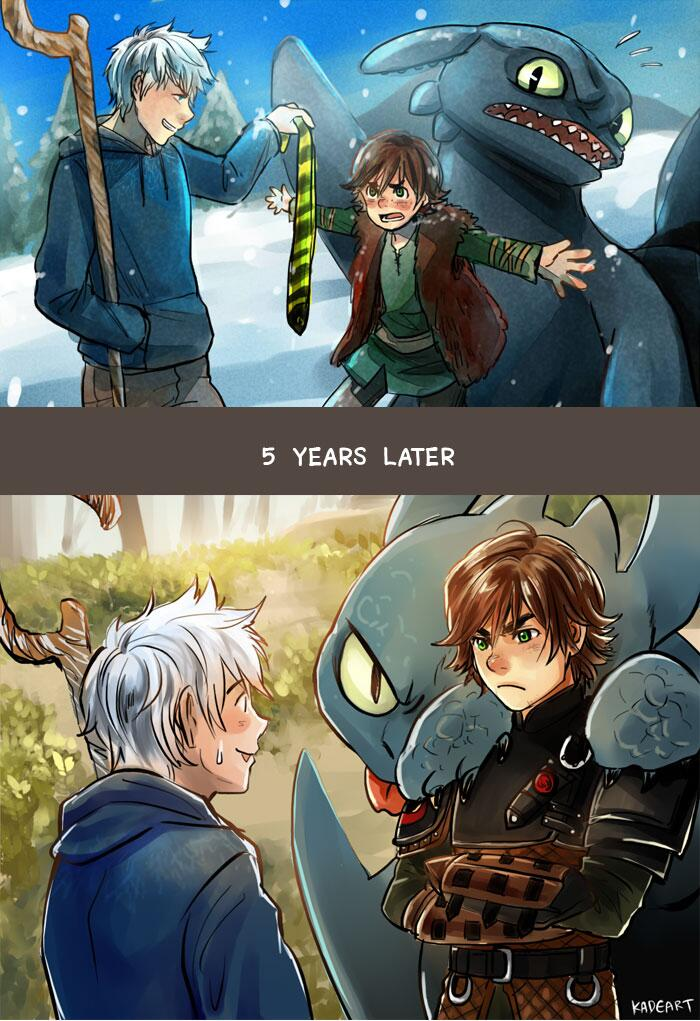 Hiccup x Jack Frost