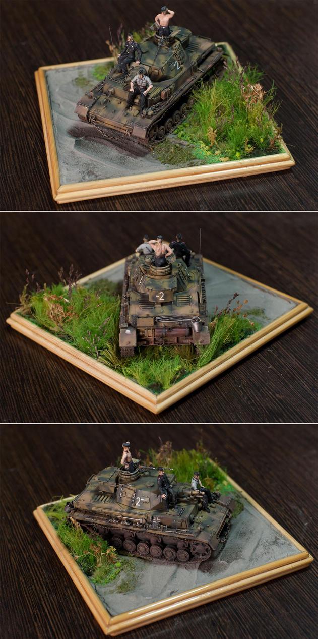 1/72 PZ IV Ausf F1 by Chrysomela on DeviantArt