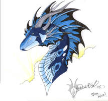 Kira Dragon by ShadowedLight