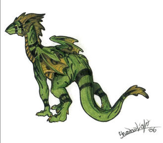 MM dragon by ShadowedLight