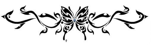 Jean's TRIBAL butterfly