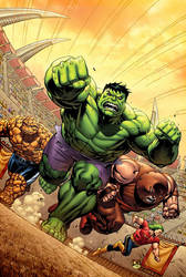 MA: Hulk No. 12 Cover by DNA-1