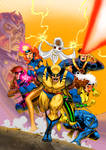 X-MEN Animated Vol.1 Box Art