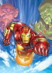 IRON MAN Animated Box Art