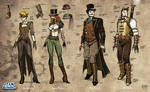 Steampunk Sketches A