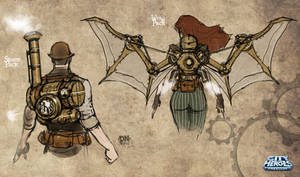 Steampunk Sketches B