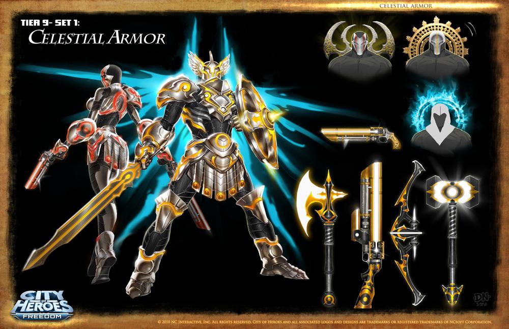 Celestial Armor by DNA-1