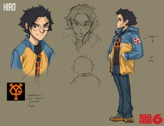 Big Hero 6 Concept: HIRO