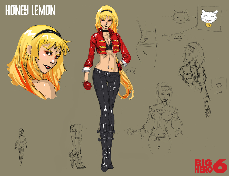 Sexy Honey Lemon Big Hero 6