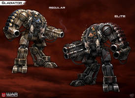 Gladiator Mech by DNA-1