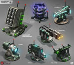 War Commander--Defense Turrets LVL6