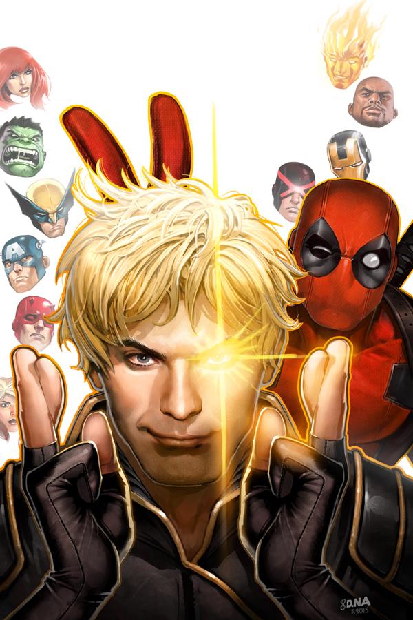 Deadpool Photobomb! by DNA-1