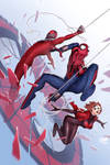 Scarlet Spiders #1 Cover
