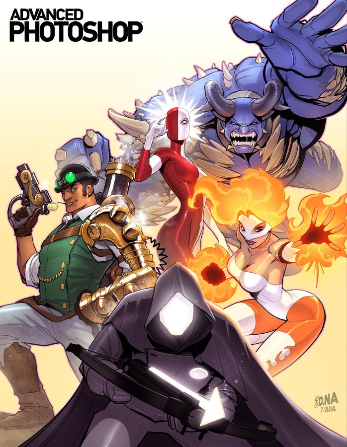 APM Tutorial Comic Book Art