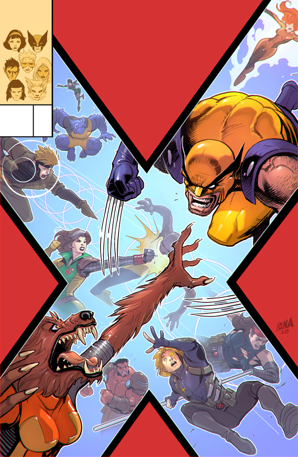 X-Tinction Agenda #2 Cover by DNA-1