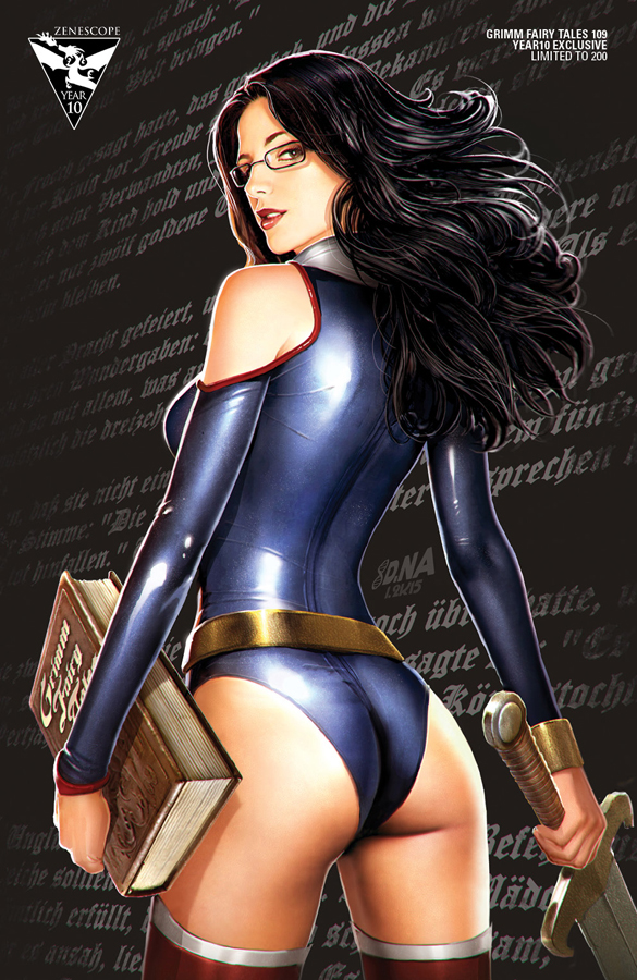 Zenescope 10th Anniversary--Sela by DNA-1