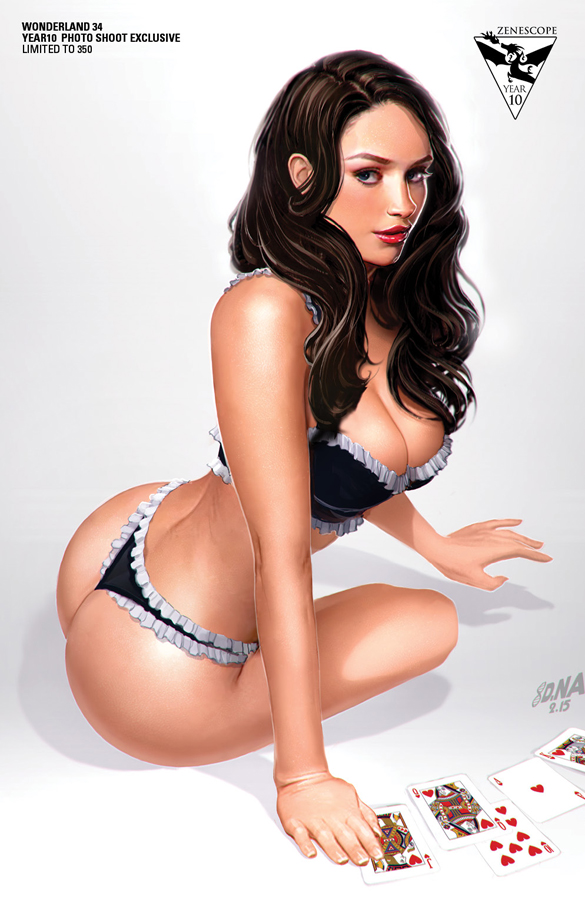 Zenescope 10th Anniversary--Calie by DNA-1 on DeviantArt