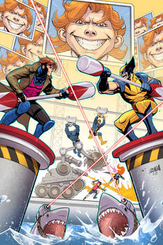 X-Men '92 #2 Variant Cover