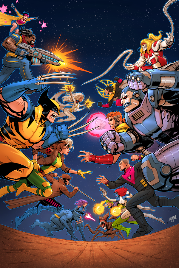 X-Men '92 #1 Cover (Ongoing Series) by DNA-1