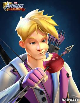Avengers Academy--Hawkeye Portrait