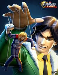 Avengers Academy--Loki Portrait