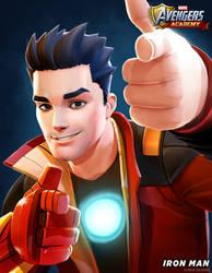 Avengers Academy--Iron Man Portrait