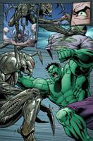 FCBD: Hulk page 3 by DNA-1