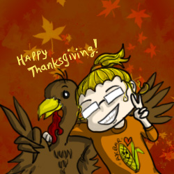 Happy Thanksgiving! by LynSmall