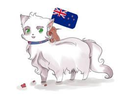 Fanart: New Zealand Nekotalia