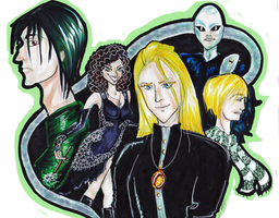 :AT: Slytherin by magnolia-rabbit