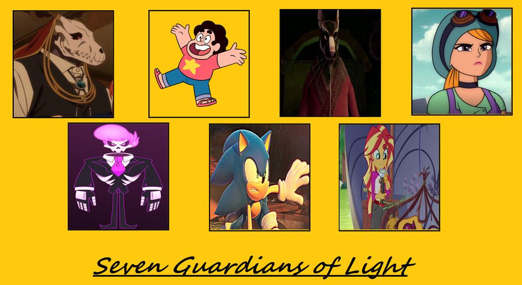 Mis guardianes de la luz by elfdragon35
