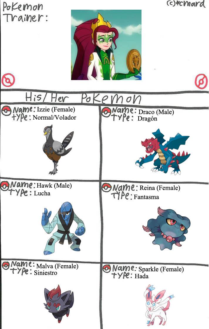 Mysticons Equipo Pokemon Arcana Goodfey corregido by elfdragon35