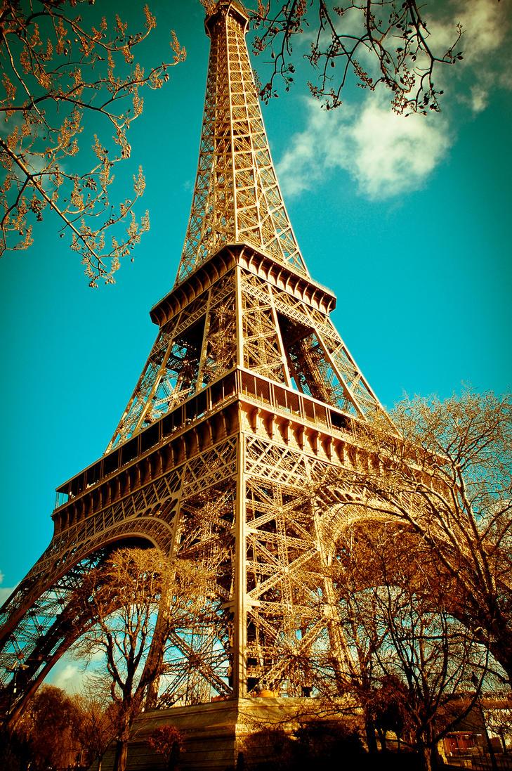 Czeshop Images Eiffel Tower Paris Wallpaper Vintage