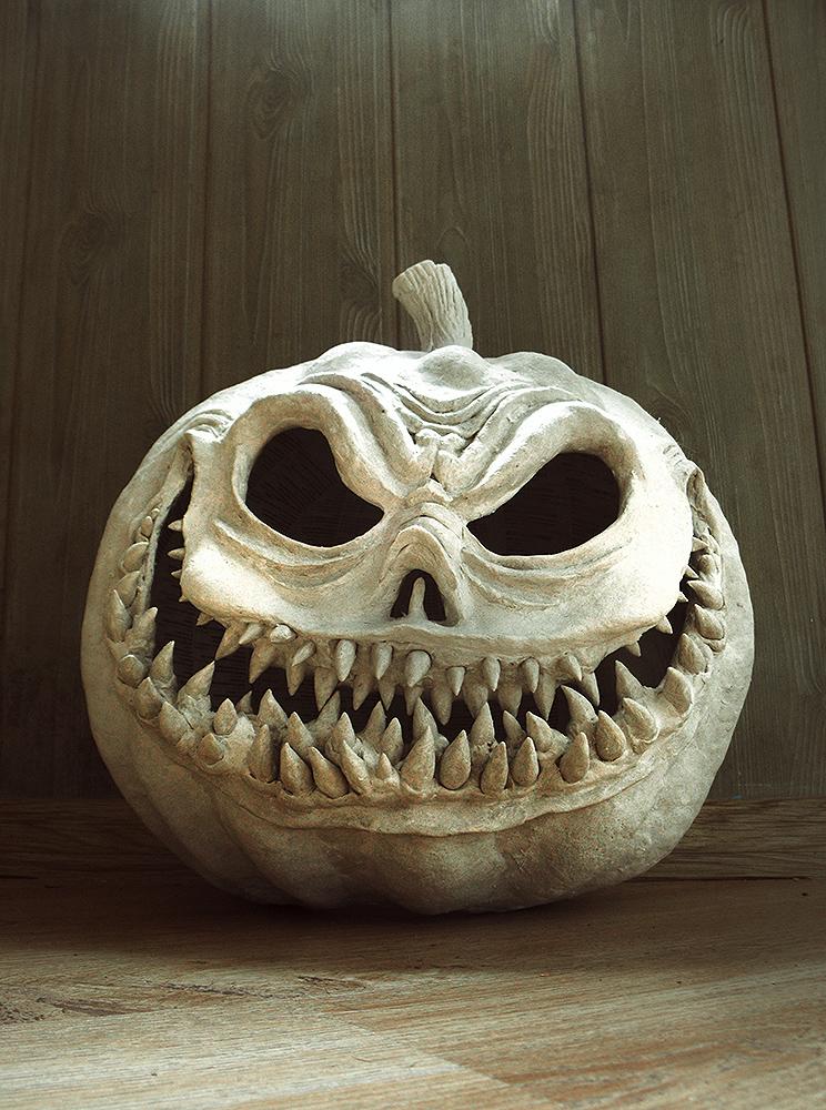 Pumpkin face by DrZoliparia
