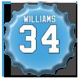DeAngelo Williams by sportscaps
