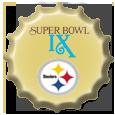 Super Bowl IX cap by sportscaps