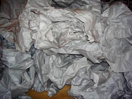 Crumpled paper by allyekhrah-stock
