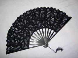 Gothic Lace fan by allyekhrah-stock
