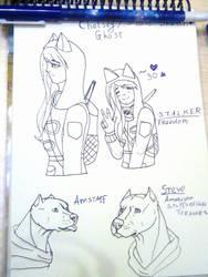 Stalker sketches by VilonaArt